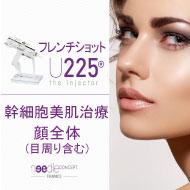フレンチショットU225(顔全体+目周り)+ケアシス付1回